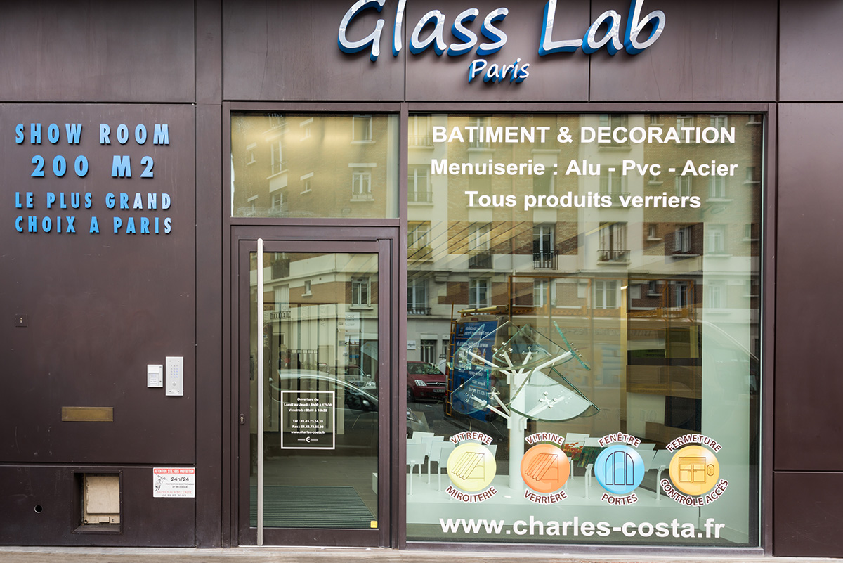 La boutique de Glass Lab Paris